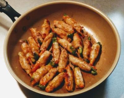 肉巻き野菜