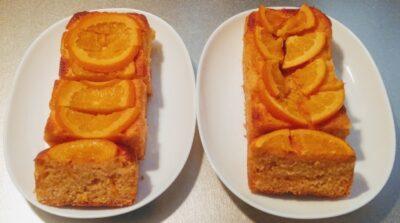トースターでオレンジケーキ