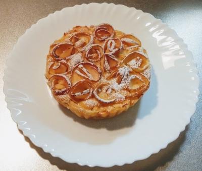 りんごと蜂蜜ケーキ