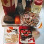 レンコンと舞茸のきんぴらの材料