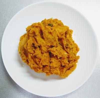 かぼちゃとツナのサラダ